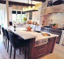 kitchen designs with island kitchen island design ideas types personalities beyond function