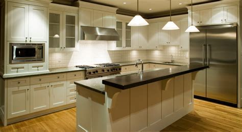 White Kitchen Cabinets   Ice White Shaker Door Style