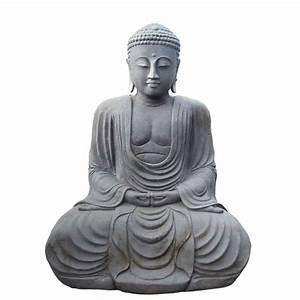 Buddha Bilder Gemalt : japan buddha sitzend unikat aus naturstein handarbeit katashi ~ Markanthonyermac.com Haus und Dekorationen