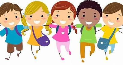 Cartoon Clipart Classmates Child Animated Clip Children