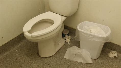 Hopefully The Pharmacists Don't Use The Filthy Bathroom