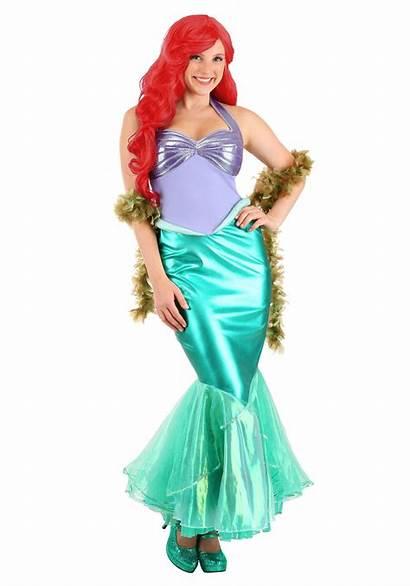 Mermaid Ariel Costume Deluxe Disney Adult Womens