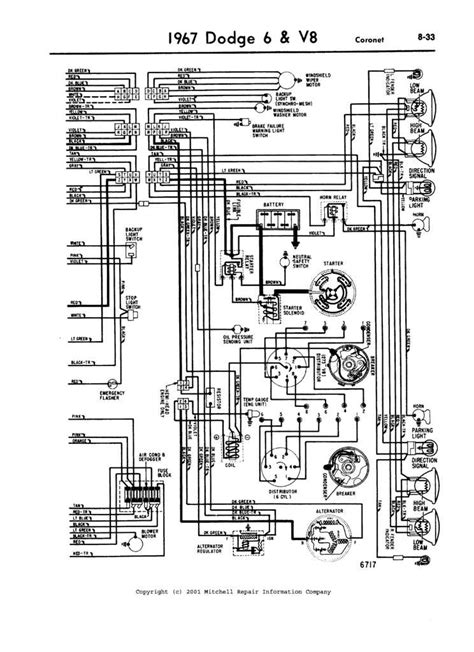 1969 Starter Wiring by I A 1967 Dodge Coronet It Will Not Start I Turn The