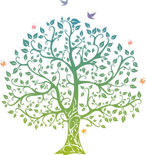 wall sticker pohon orange 3d the tree of wicca daily