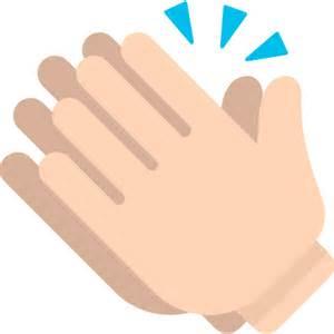 Facebook Clapping Hands Emoji