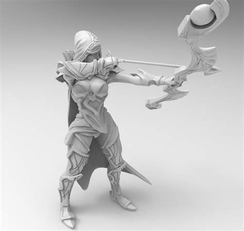 Images Of Dota 2 Drow Ranger Model Golfclub