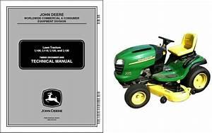 John Deere L100 L110 L120 L130 Lawn  U0026 Garden Tractor