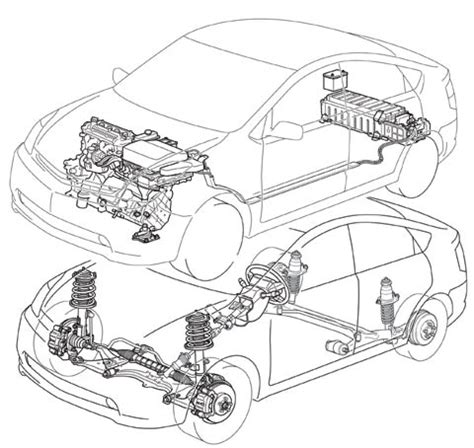Toyotum Car Engine Diagram by 2004 Car Of The Year Winner 2004 Toyota Prius Motor Trend