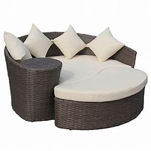 Lounge Insel Outdoor : gartensofa mit hocker halbrunde lounge insel polyrattan braun cremefarben m bel24 xxl ~ Bigdaddyawards.com Haus und Dekorationen