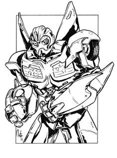 Transformers Coloring Pages Bumblebee | Coloring Pages | Transformers coloring pages, Coloring