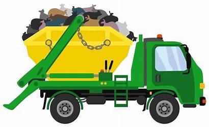Skip Bin Waste Management Industrial Truck Recycling