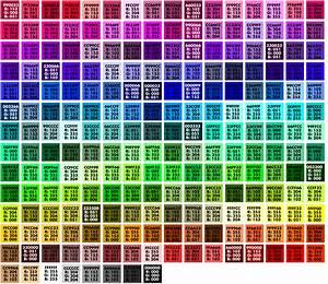 Edokos Get Html Color Codes