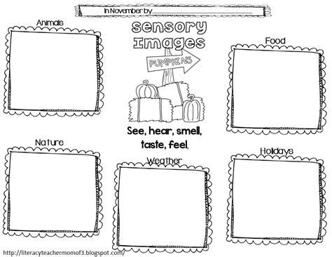 worksheets sensory words for grade worksheets best