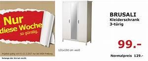 Brusali Kleiderschrank Ikea : ikea brusali kleiderschrank 3 t rig 131 f r 99 00 23 ~ Eleganceandgraceweddings.com Haus und Dekorationen