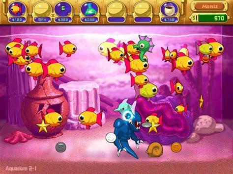 jeu de poisson aquarium insaniquarium gt jeu iphone android et pc big fish