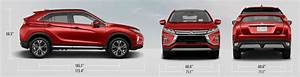 2018 Mitsubishi Eclipse Cross Exterior Dimensions