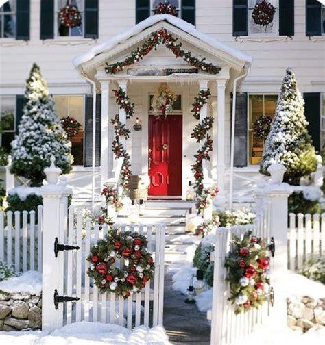 idee decoration noel exterieur maison