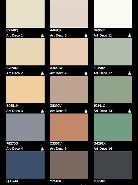 deco colours for painting art deco paint colours art deco pinterest