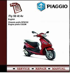 Piaggio Fly 50 4t 4v Workshop Service Repair Manual