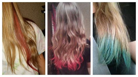 How To Dye Your Hair With Kool Aid Youtube