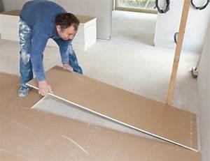 Poser Un Grillage Sans Ciment : chape s che pr parez un sol rapidement solutions ~ Dailycaller-alerts.com Idées de Décoration