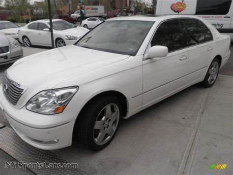 crystal ls for sale 2006 lexus ls 430 in crystal white 041663 nysportscars