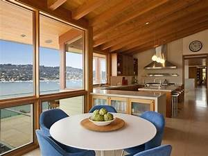 Integrated, Kitchen, Dining, Room, Ideas