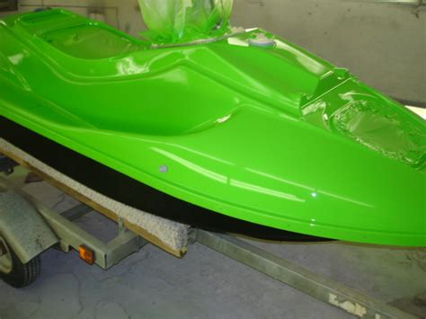 color rite jet ski paint mikes paint and speedliner spray in bedliner