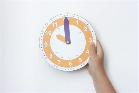 reloj para imprimir gratis cosas molonas diy
