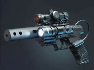 Real Futuristic Weapons Guns