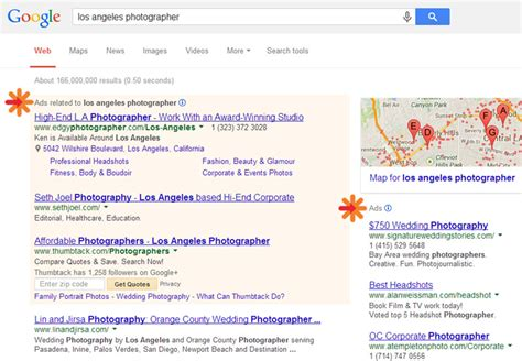 paid google adwords  photographers sem