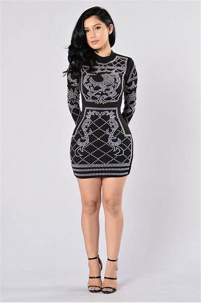 Dresses Fashionnova Nova Sleeve Royal Skirt Markdowns
