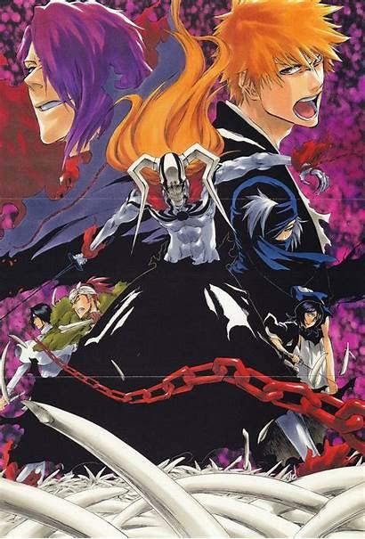 Bleach Anime Manga Ichigo Shuren Hollow Hell