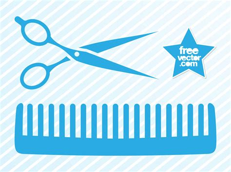 Hairdresser Icons Vector Art & Graphics