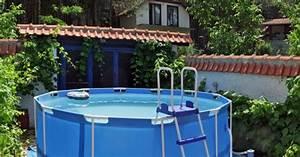 Preparation Terrain Pour Piscine Hors Sol Tubulaire : une piscine autoportante acheter rapide monter et ~ Melissatoandfro.com Idées de Décoration