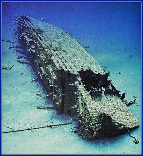 Rms Lusitania Wreck Photos by Wreck Of The Quot Britannic Quot World S Sunken