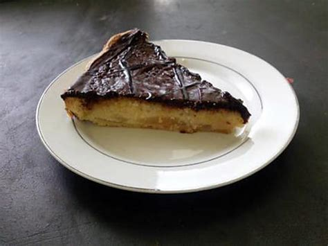 recette de tarte pomme poire amande chocolat