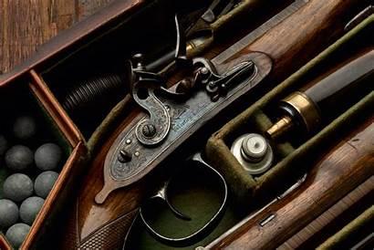 Flintlock Rifle Patriot 1776 Wallpapers Shooting Forward
