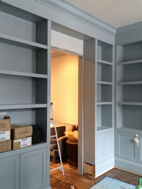 shelves boothbay gray from benjamin paint colors color inspiration cabinet paint