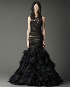 amazing black lace mermaid wedding dresses sang maestro With black lace wedding dresses