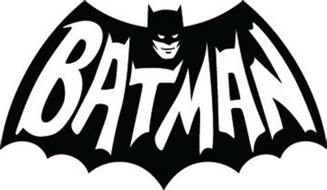6 1966 Batman Logo Vinyl Decal