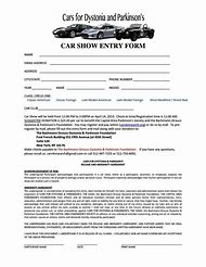 Best Car Registration Ideas And Images On Bing Find What Youll Love - Car show registration form template