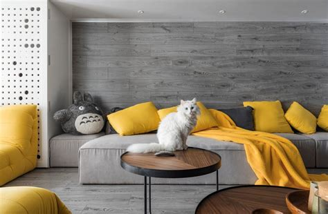 The Living Room Or Not Cat by Spotted Cat Friendly Homes For Cat Nonagon Style