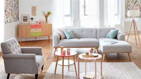 tendance deco 2018 salon tendance d 233 co couleur chambre cuisine salon vintage scandinave c 244 t 233 maison