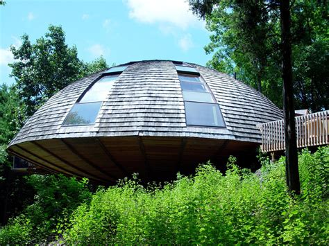 eco friendly rotating dome country retreat idesignarch interior design architecture