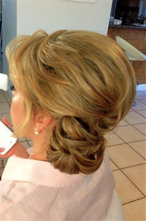 mother bride hairstyles curly hair wedding