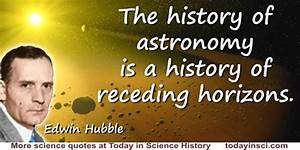 Edwin Powell Hubble Quotes - 20 Science Quotes ...
