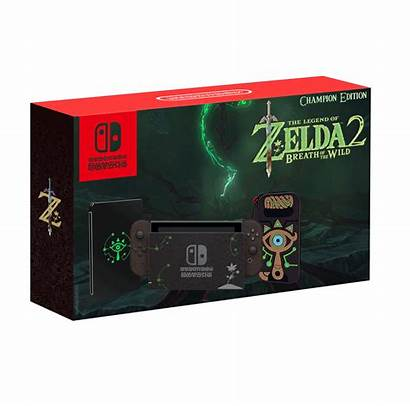 Switch Breath Wild Edition Bundle Zelda Champion