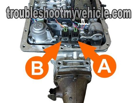 2000 Impala Shift Solenoid by How To Test The 1 2 And 2 3 Shift Solenoids Gm 4l60 E