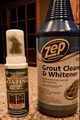 Zep Tile And Grout Cleaner Ingredients by Best 25 Cleaning Bathroom Grout Ideas On